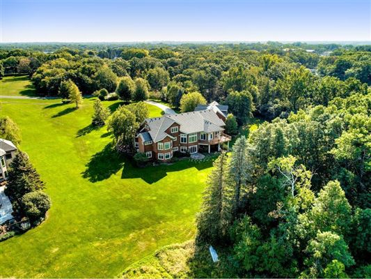 expansive estate on private Gem Lake luxury properties