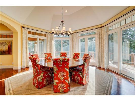 Luxury real estate expansive estate on private Gem Lake