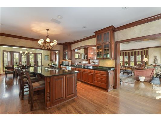 Luxury real estate Magnificent estate on over four acres