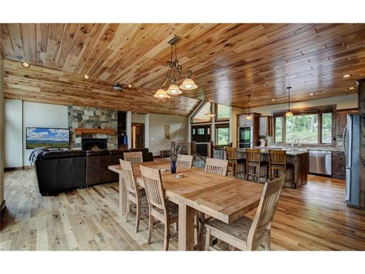 new construction on Long Lake luxury homes