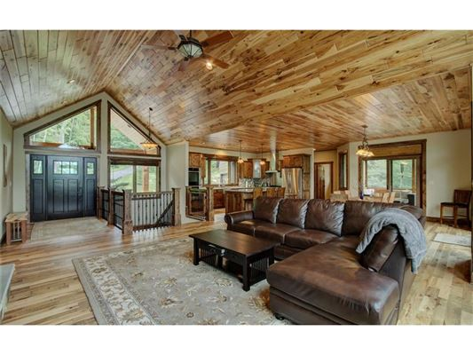 Luxury real estate new construction on Long Lake