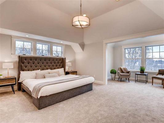 Extraordinary new construction in edina luxury real estate