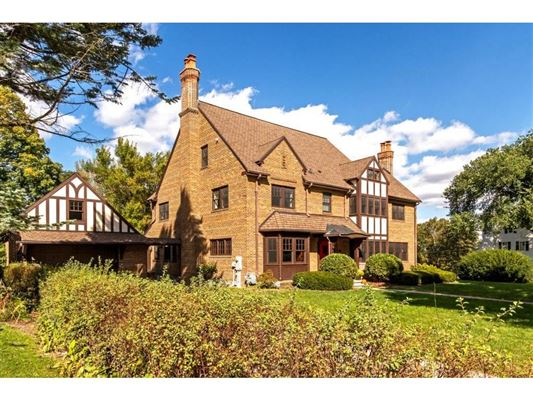 Mansions in a historic Tudor Home