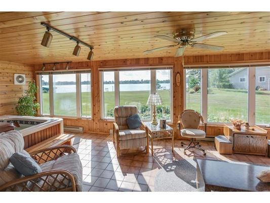 private nine-acre Gull Lake property  luxury properties