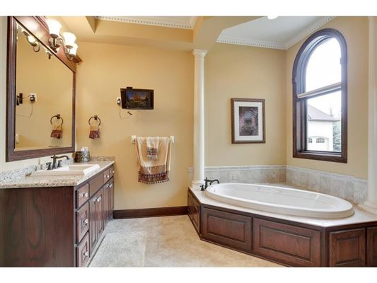Luxury properties Sumptuous, custom built home in blaine