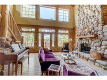 Luxury homes charming home offers lake views