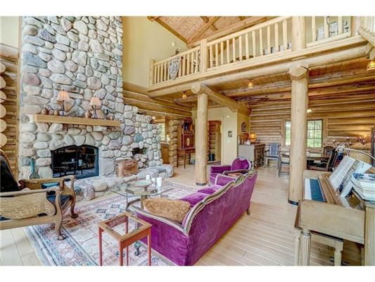 Mansions charming home offers lake views