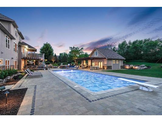 Luxury properties  a resort style estate setting