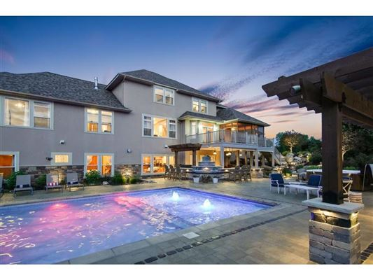 Luxury homes in  a resort style estate setting