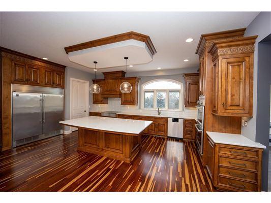 Elegant custom built all brick Ranch mansions
