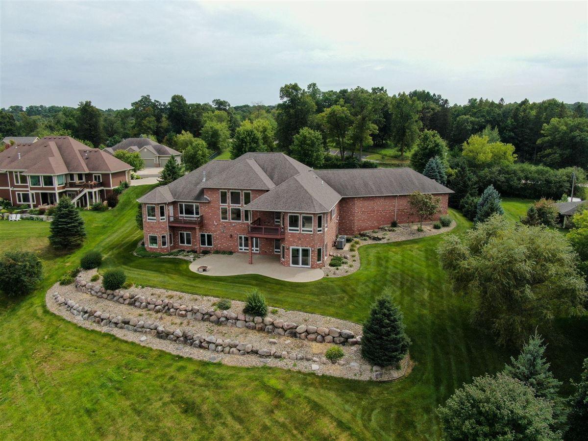 Luxury real estate Elegant custom built all brick Ranch