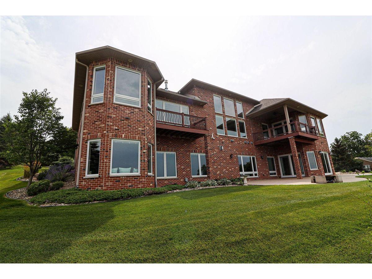 Mansions Elegant custom built all brick Ranch