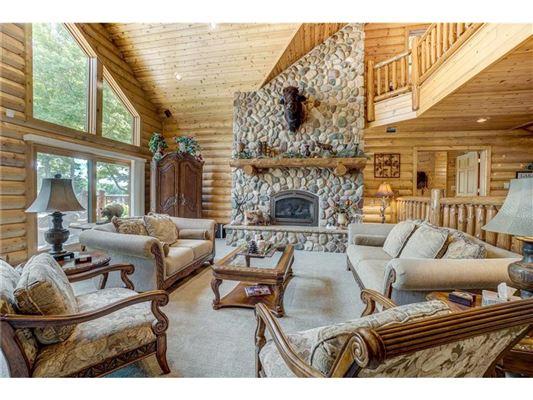 Luxury properties Fully furnished Namekagon Lake luxury estate