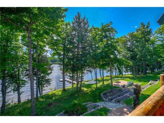 Fully furnished Namekagon Lake luxury estate mansions