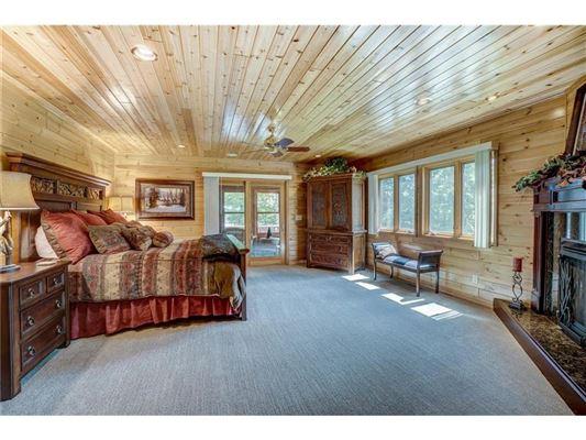 Luxury homes Fully furnished Namekagon Lake luxury estate