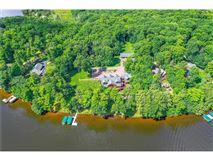 Fully furnished Namekagon Lake luxury estate luxury homes