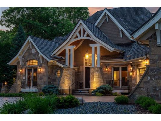 Spectacular Lake Minnetonka home luxury properties