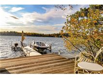 impeccably kept estate on the Pike Lake chain luxury homes