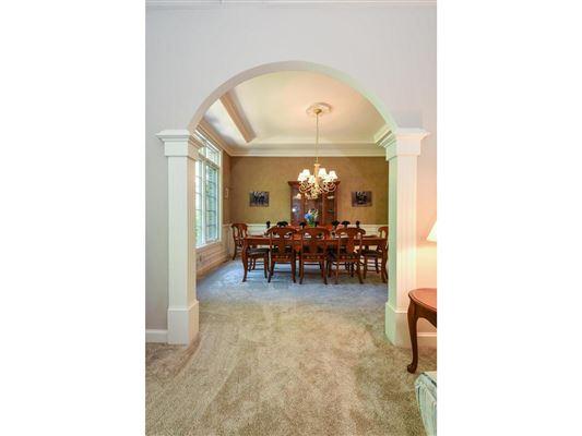 Mansions in elegant estate