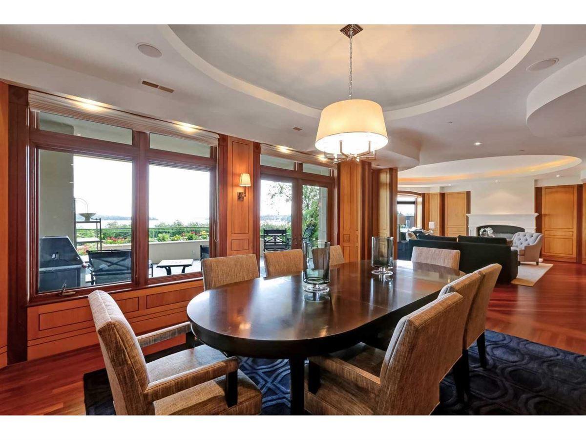 Luxury real estate custom built condo at the Harrington House