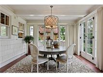 Luxury homes Enchanting, historic white colonial