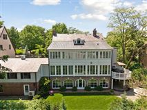 Enchanting, historic white colonial mansions