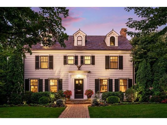 Enchanting, historic white colonial luxury properties