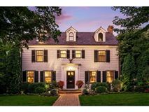 Luxury homes in Enchanting, historic white colonial