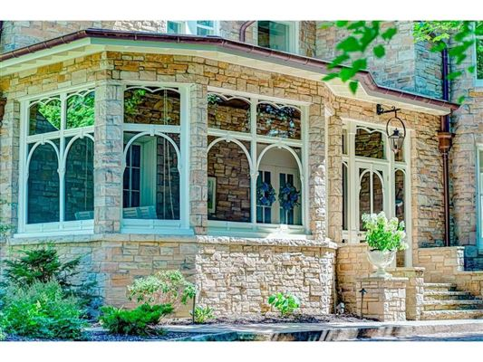 Luxury real estate a historic Victorian mansion