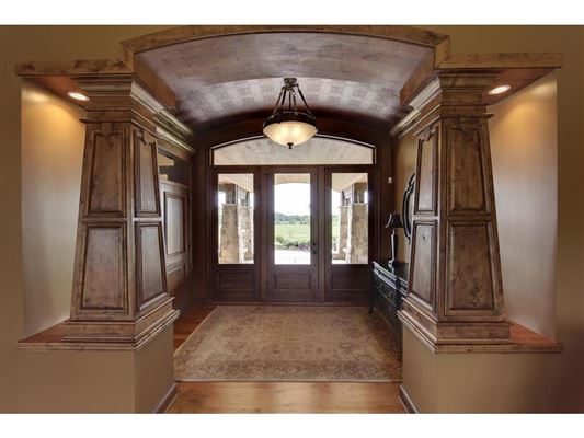 Luxury homes beautiful walkout rambler on 40-plus acres