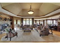 beautiful walkout rambler on 40-plus acres mansions