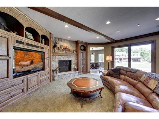 beautiful walkout rambler on 40-plus acres luxury real estate