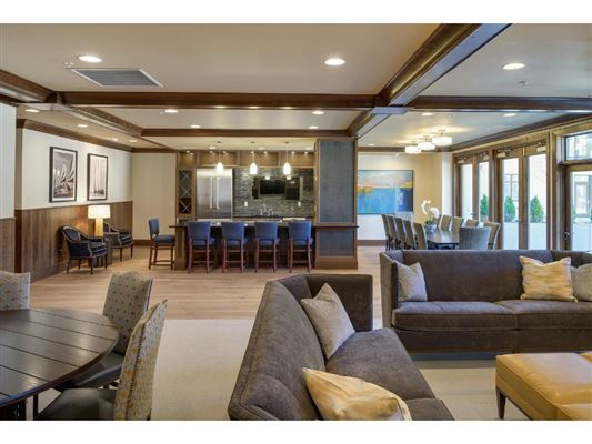 Luxury homes in two-story condo