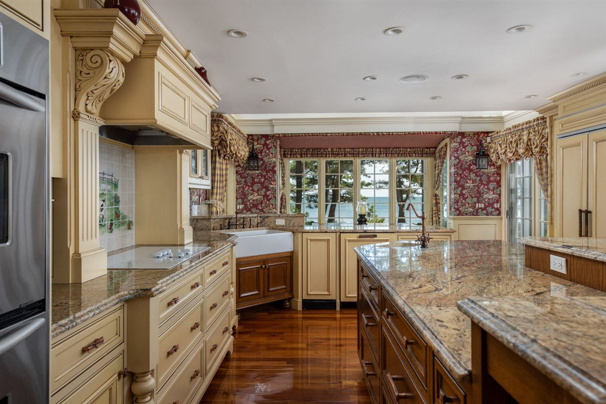 Luxuriously appointed sandy beach front estate property  luxury real estate