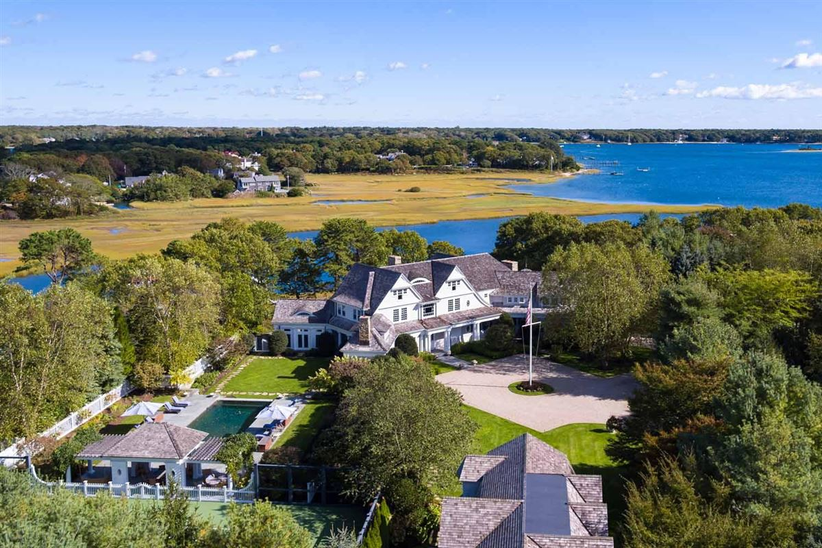 Stunning Waterfront Estate in a Gated Community  mansions