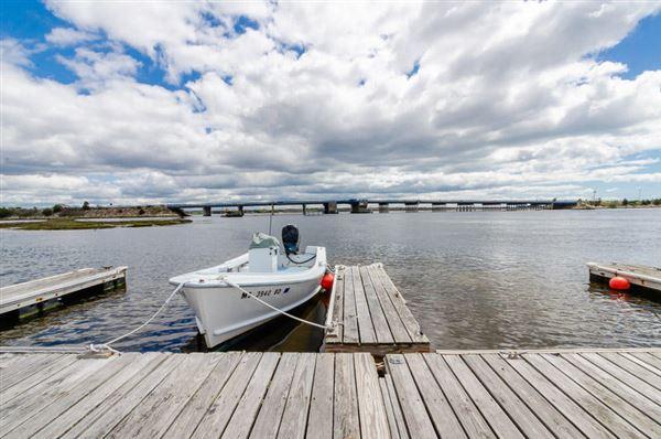 a hidden waterfront gem luxury homes