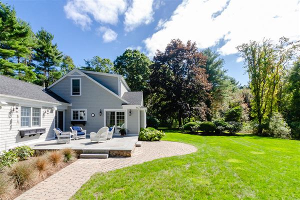 Stylish Cape on a spacious lot luxury real estate