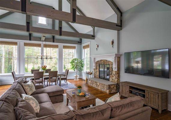 Luxury homes beautiful contemporary Farmhouse