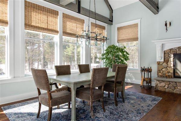 Luxury properties beautiful contemporary Farmhouse
