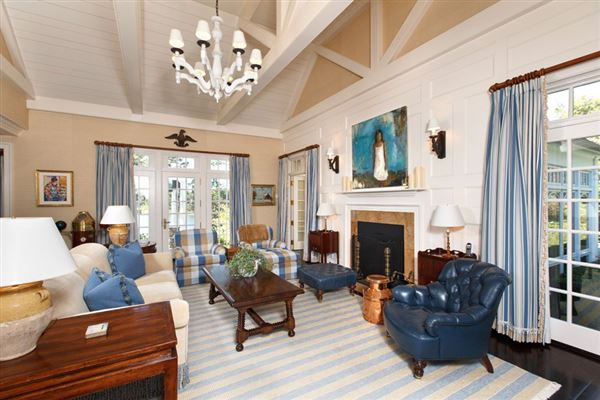 Luxury homes in stunning traditional waterfront estate