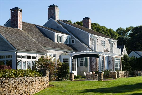 stunning traditional waterfront estate mansions