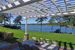 stunning traditional waterfront estate luxury properties