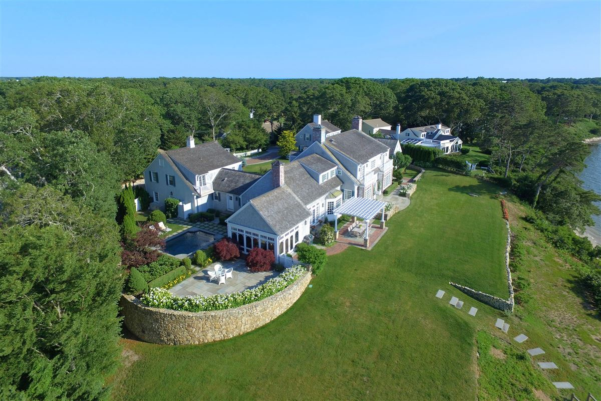 stunning traditional waterfront estate luxury homes
