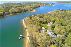 glorious gated estate on Cotuit Bay luxury properties