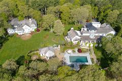Mansions glorious gated estate on Cotuit Bay