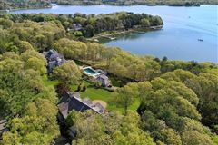 glorious gated estate on Cotuit Bay mansions