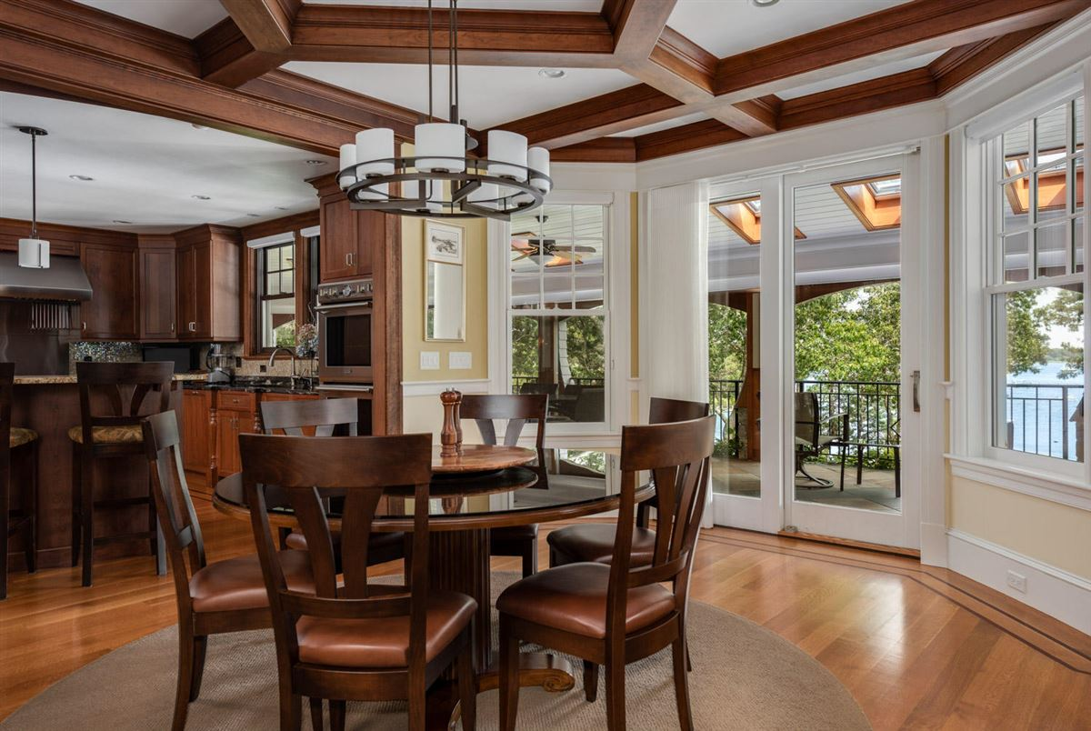 Mansions in glorious gated estate on Cotuit Bay