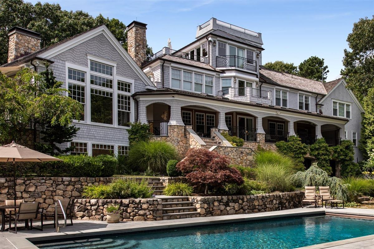 Luxury homes glorious gated estate on Cotuit Bay