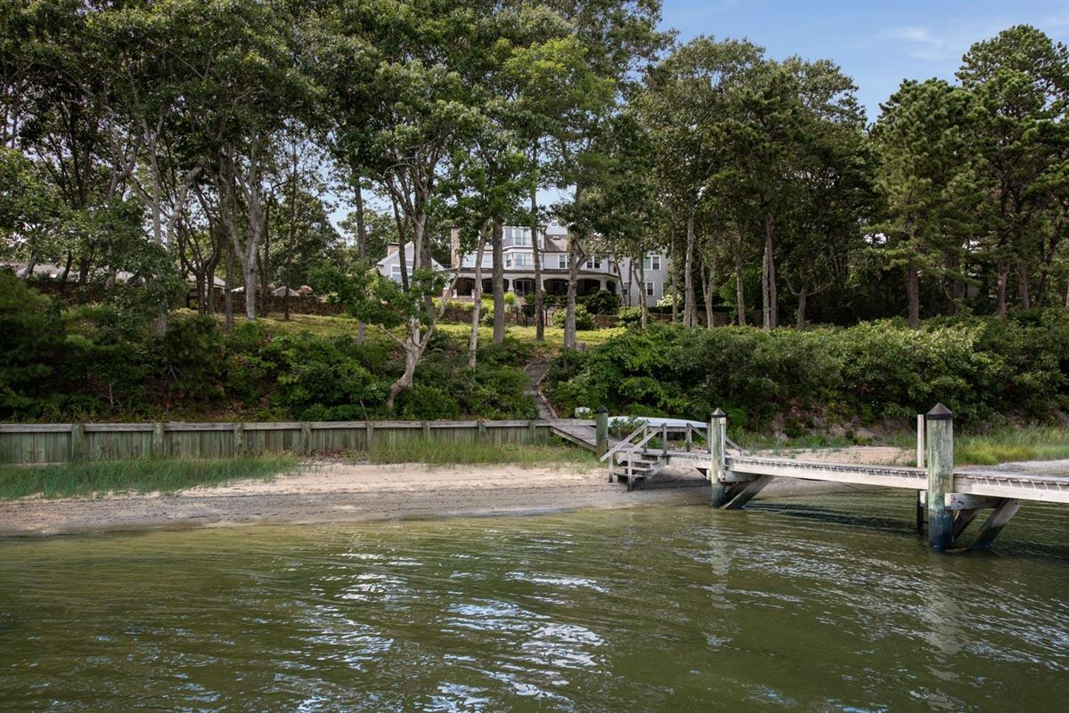 glorious gated estate on Cotuit Bay luxury homes
