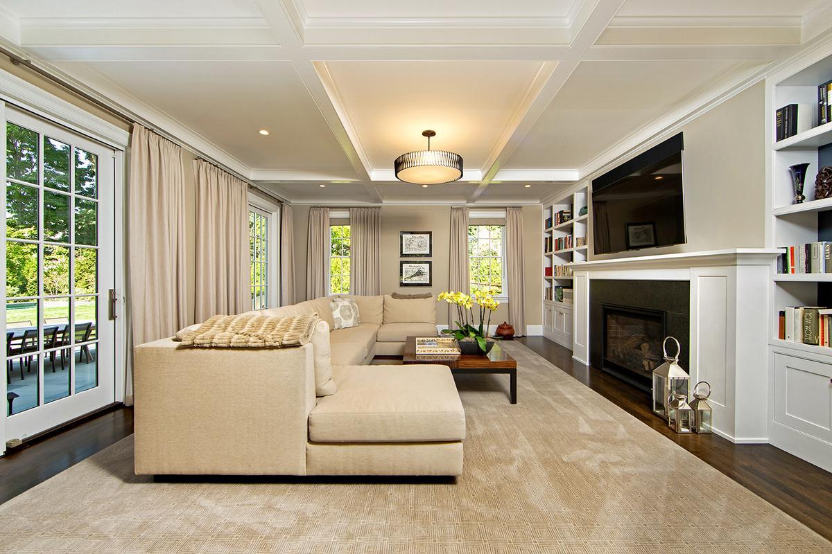 Luxury real estate Custom designed in Chestnut Hill